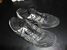 Used.  Very little use on these (ASICS) athletic shoes. Womens size 9 1/2.