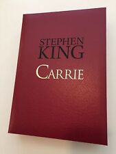 CARRIE Stephen King ARTIST Edition Cemetery Dance Limited
