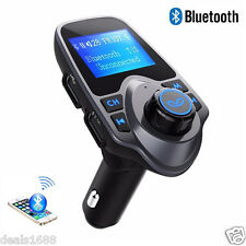 Bluetooth Wireless Handsfree Car Kit MP3 Player FM Transmitter Radio USB Charger