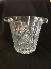 Royal Gallery Crystal Ice Bucket