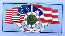 1990's PUERTO RICO FLAG BOOSTER License Plate