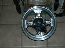 HONDA ct70 chromed front and rear hubs, speedo gear and brakes