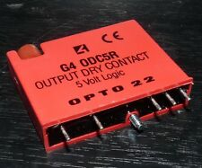 OPTO 22 G4 ODC5R OUTPUT MODULE RELAY DRY CONTACT 5 VOLT LOGIC