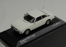 Peugeot 504 Coupe 1976 white Minichamps 1:43