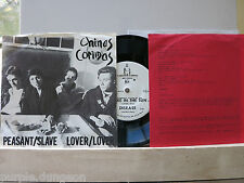 "CHINAS COMIDAS - Peasant / Slave  7"" Single  + insert + Beiblatt   With Al Sharp"