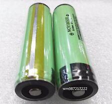 New 2pc Protected Genuine Japan Original Panasonic NCR18650B 3.7V3400mAH Battery