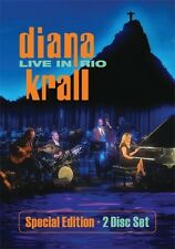 Diana Krall: Live in Rio [Special Edition (2009, DVD NEUF) Special ED.2 DISC SET