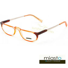 "MIASTO ""MAYBE ITALY"" HALF OVAL I/2 MOON READER READING GLASSES+2.00 FUN COLOR"