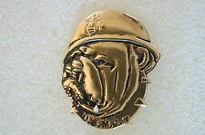 US USA USMC Marine Corps Bulldog Military Hat Lapel Pin