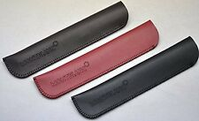 Montblanc, Parker, Mei Ling, Hero and More Ultra Fiber 1-pen Case Sleeve Bag Red
