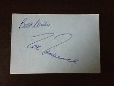 LEE LAWRENCE - ENGLISH OPERA SINGER - SIGNED VINTAGE AUTOGRAPH ALBUM PAGE