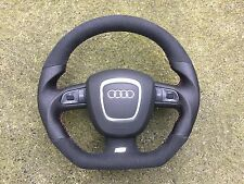 AUDI A3 S3 RS3 A4 S4 RS4 A5 RS5 A6 S6 RS6 A8 Q7 NEW CUSTOM MADE STEERING WHEEL