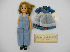 Vintage 1960s Ideal Shirley Temple 14'' Doll ST-15-N w/Dress & Overalls. (LK)