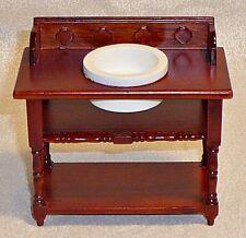 Miniature Victorian Wooden Washstand