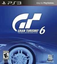 Gran Turismo 6 [Playstation 3 PS3 Racing Exclusive 1200 Cars 33 Tracks] NEW