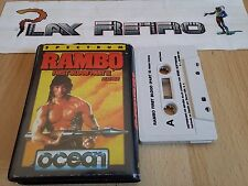 SPECTRUM RAMBO FIRST BLOOD PART II CINTA VERSION ESPAÑOLA