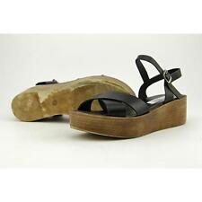 Steve Madden Steenie Women US 7 Black Platform Sandal Pre Owned  1265