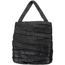 New Rare Maison Martin Margiela Bandage Strip Black Leather Shoulder / Tote Bag