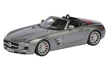 SCHUCO Mercedes-Benz SLS AMG Roadster Monza Grey 1:43 Dealer **Nice**