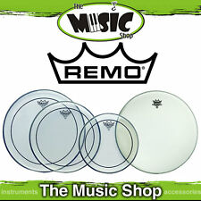 """Remo Drum Head Pack - Pinstripe Fusion Skins 10"""", 12"""", 14"""" + 14"""" Amb PP-0110-PS"""