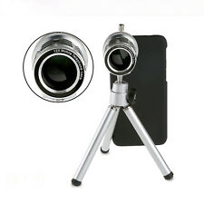 12x Telescopio Lente De Zoom Trípode Teléfono Celular Cámara para Iphone 6 4.7