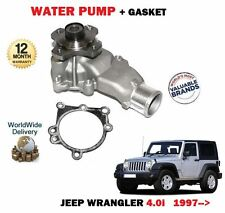 FOR JEEP WRANGLER 4.0 TJ ERH 1997-2007 NEW WATER PUMP WITH GASKET COMPLETE