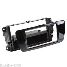 CT24ST34 SEAT IBIZA 2008 to 2014 BLACK SINGLE OR DOUBLE DIN FASCIA ADAPTER