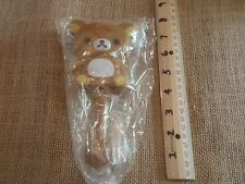 Rilakkuma Teddybear Bear Hair Brush Brown Yellow
