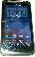 HTC ThunderBolt - Black (Verizon) Smartphone Cracked Glass Bad LCD Bad Digitizer