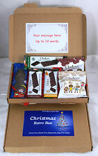 Choices Dairy Free Chocolate Gift Box Santa Gluten Wheat Egg Free stockingfiller