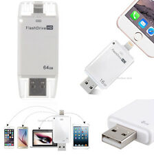 128GB USB Flash Drive Memory Stick OTG Thumb for iPhone 5 5S c 6 6s plus Android