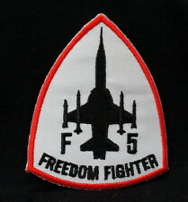 Cool FREEDOM FIGHTER Embroidered Iron On / Sew On Patches