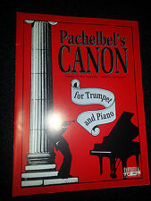 PACHELBEL'S CANON FOR TRUMPET AND PIANO