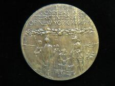 1914 TIFFANY & CO. THE COMMERICAL TERCENTENARY OF NEW YORK - BRONZE MEDAL/TOKEN