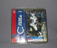 New Mcfarlane NFL 2003 Marshall Faulk White Jersey Variant Action Figure Colts*