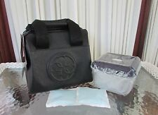 GUESS Korry Black Insulated Lunch Tote Baby Bag containers freezer packs NWT