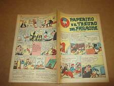 WALT DISNEY ALBO D'ORO N°16 PAPERINO E IL TESORO DEL FARAONE 1955