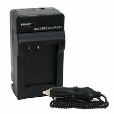 Battery Wall Charger with Car Adapter Combo Set For Olympus OM-D E-M5 EM5