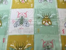 RPE312C Tokyo Train Watts Moths Beetles Insects Cotton + Steel Quilting Fabric