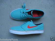 Nike Air Sb Zoom Stefan Janoski Canvas 41 Crystal Mint/Lt Crimson-Black