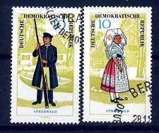 GERMANY - GERMANIA - DDR - 1964 - Costumi popolari. E2011