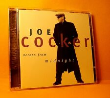 CD Joe Cocker Across From Midnight 12 TR 1997 Blues, Pop Rock