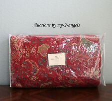 NEW Pottery Barn Holiday ANIBEL Paisley Full/Queen F/Q Quilt RED