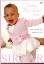 Baby Bamboo Too - Sirdar Knitting Pattern Book 413 - 16 Designs Birth - 7 years