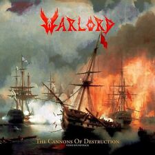 WARLORD - THE CANNONS OF DESTRUCTION - CD NEW SEALED 2015 - NR. COPY # 094/500