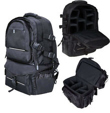Deluxe Camera Backpack Bag Case for Sony Canon Nikon DSLR SLR Multifunctional