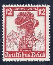 Nazi Germany Third Reich 1935 Lady Schwarzwald 12 Stamp WW2 Era