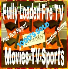 Amazon Fire TV 4k Jailbroken-HD Movies-TV Shows-Sports-XXX-Live TV PPV-#1 SELLER