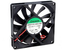 Cooling Fan Assembly 12v Dc Brushless Size 80x80x15 Mm Amp Car Radio Cooling Etc