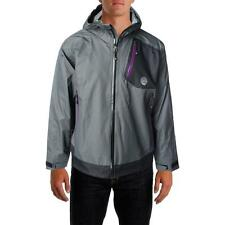Gerry 7862 Mens Gray Hooded Mountaineering Breashears Jacket Outerwear L BHFO
